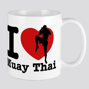 Muay Thai Heart Designs Mug